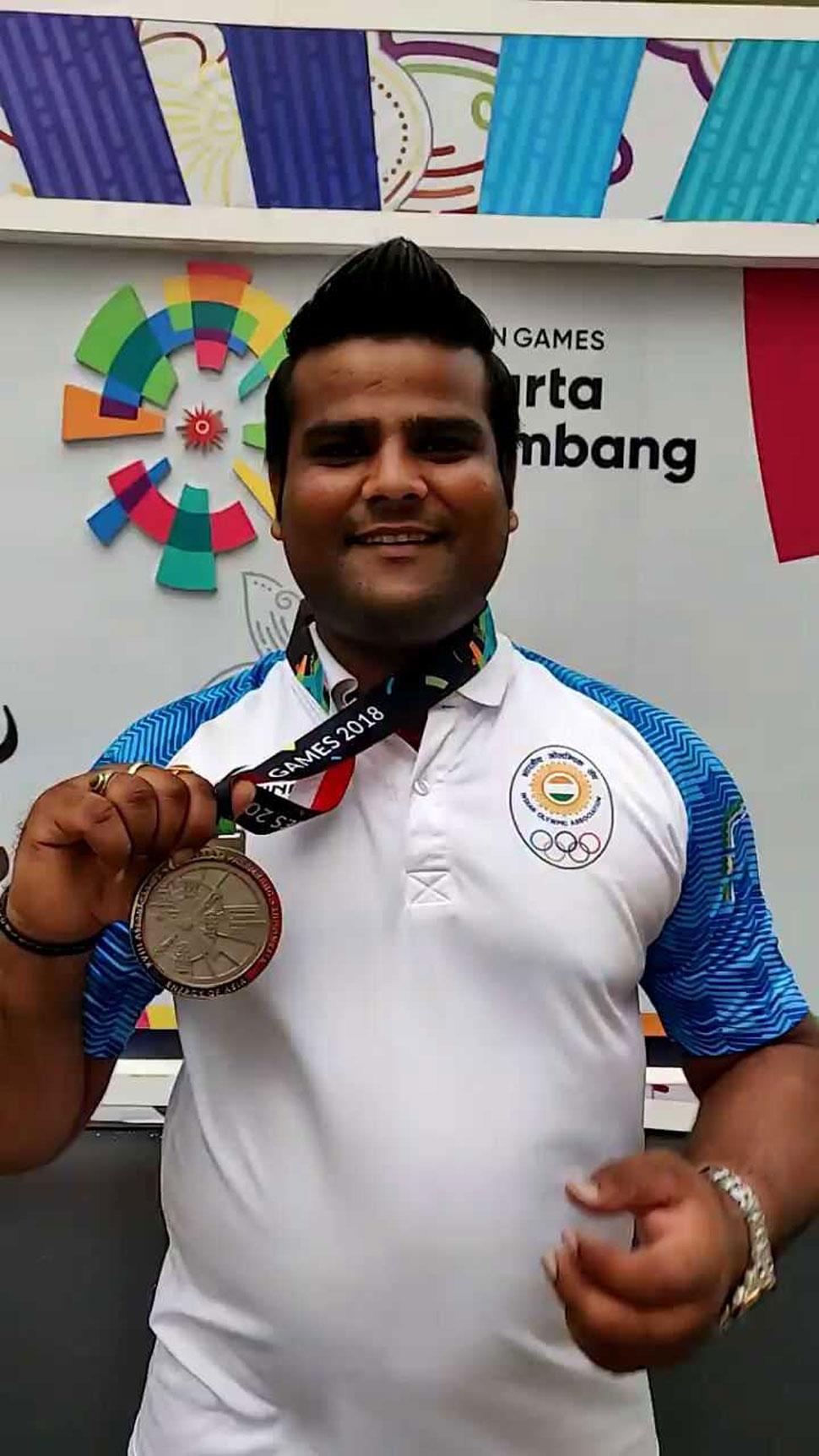 Rajat Chauhan, Archery, Asian Games 2018