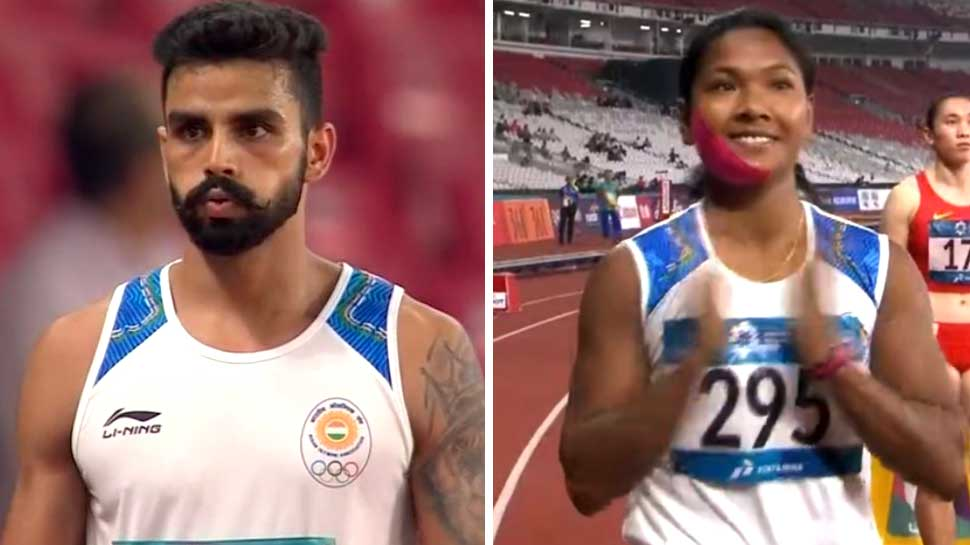 Asian Games 2018: भारत 11वें दिन एथलेटिक्स में दो गोल्ड जीता, हॉकी के फाइनल में पहुंचा
