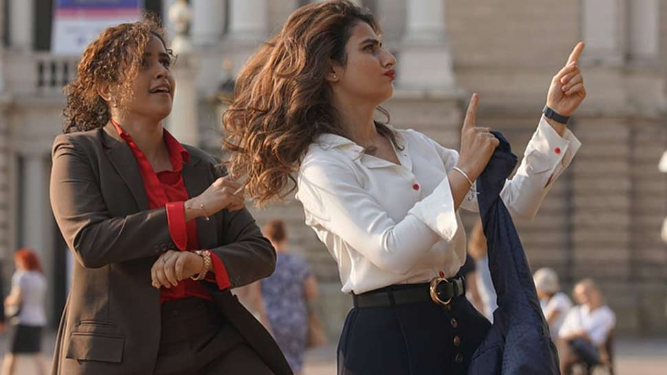 Dance Video of Fatima Sana Shaikh and Sanya Malhotra