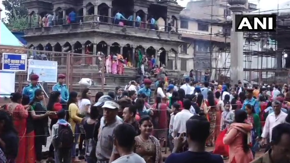 Janmashtami celebration in Nepal