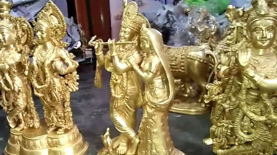 Muslims are making brass sculptures