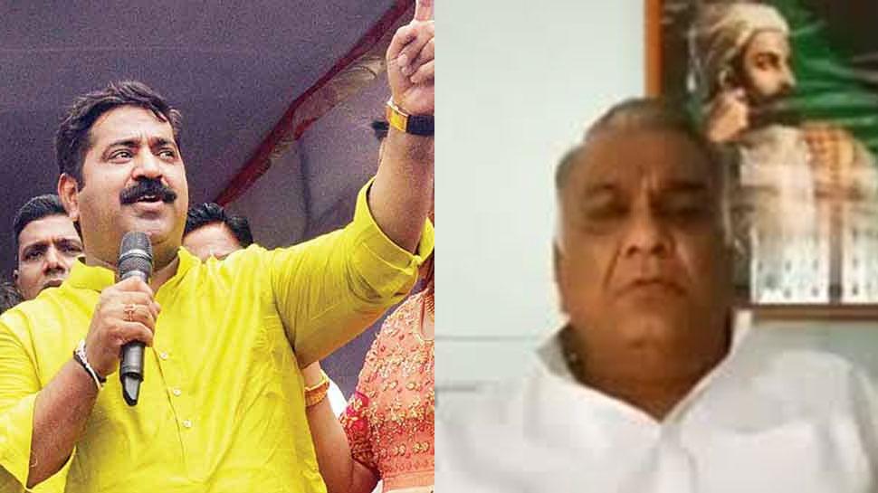 कांग्रेस नेता का विवादित ऐलान, बोले- इस BJP लीडर की जीभ काटकर लाने वाले को देंगे 5 लाख का ईनाम