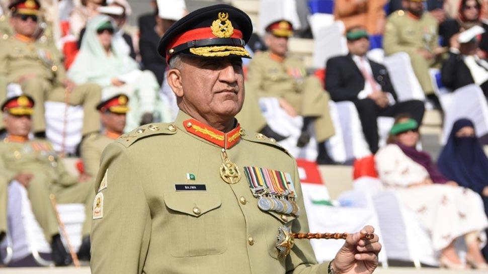 पाकिस्तानी सेना प्रमुख ने भारत को दी धमकी, कहा- 'हम सरहद पर बहे लहू का हिसाब लेंगे'