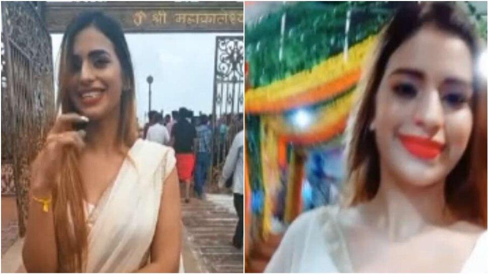 VIDEO: महाकाल मंदिर की सिक्योरिटी को चकमा देकर मॉडल ने बनाया वीडियो, मच गया हडकंप