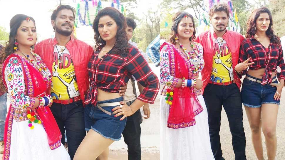 भोजपुरी फिल्म 'मुन्ना मवाली' को मिली जबरदस्त ओपनिंग, देखिए शूटिंग की कुछ तस्वीरें