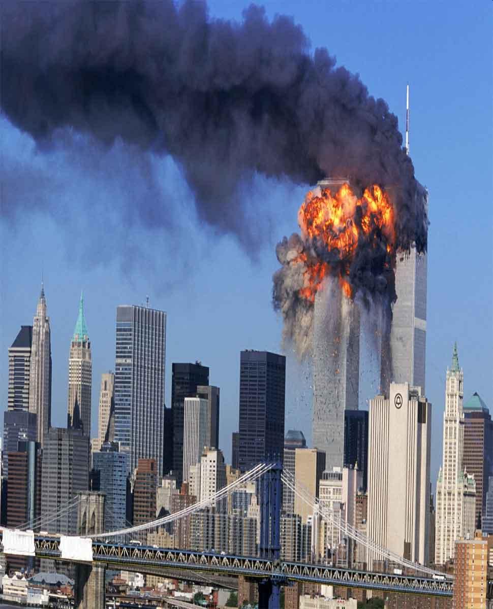 Terror attack on American world trade center-2