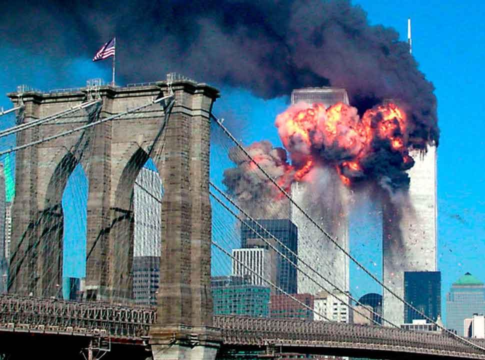 Terror attack on American world trade center-1