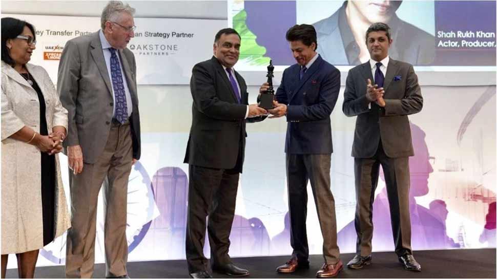 इंडियन सिनेमा को ग्लोबलाइज करने के लिए शाहरुख को मिला इंटरनेशनल अवॉर्ड