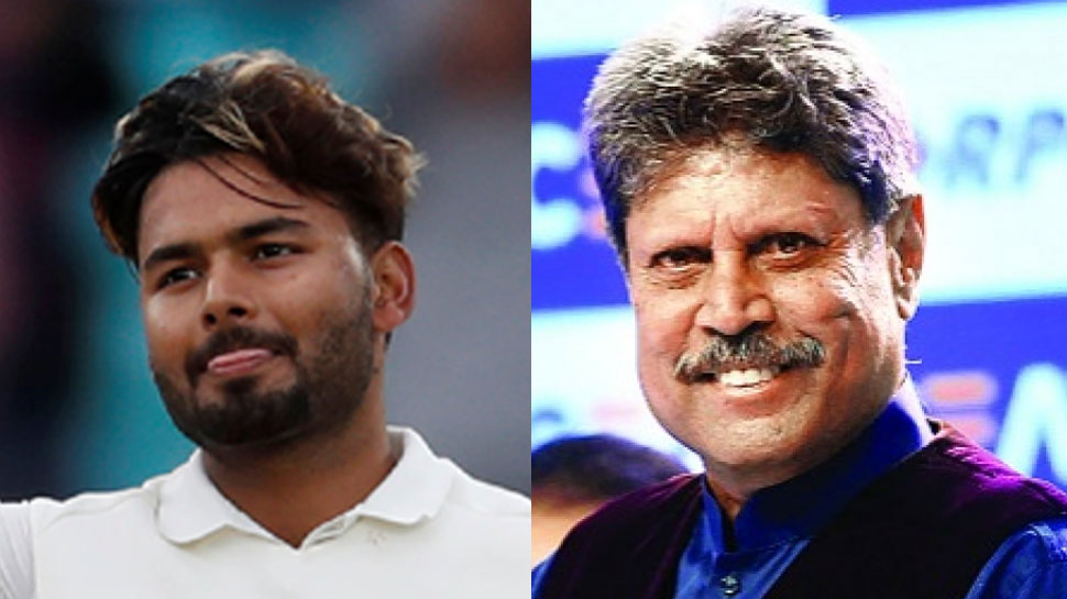 Pant With Kapil Dev