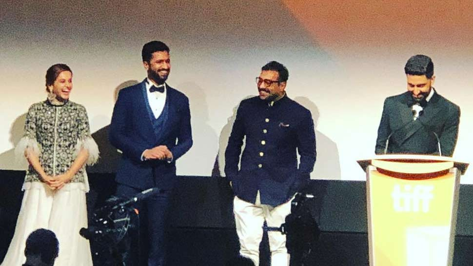 Bachchan and Vicky Kaushal at Toronto International Film Festival