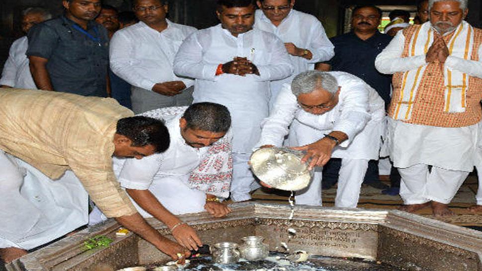 बोधगयाः सीएम नीतीश कुमार ने किया पितृपक्ष मेले की तैयारियों का निरीक्षण