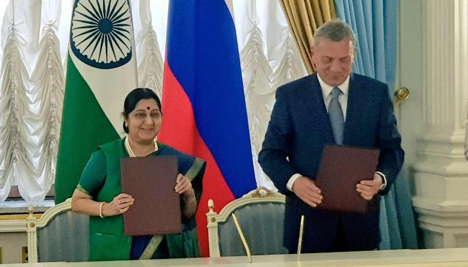 मॉस्को: भारत और रूस ने मिलाया हाथ, तय किया दोतरफा 50 अरब डॉलर का निवेश लक्ष्य