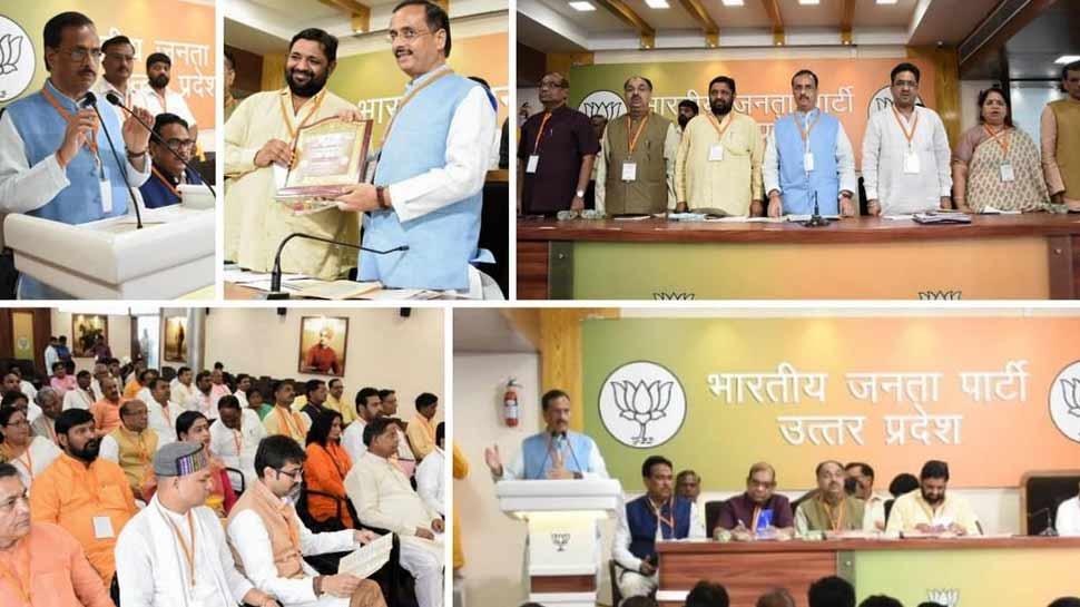 बीजेपी के अलावा किसी भी पार्टी ने दलितों के विकास का काम नहीं किया: दिनेश शर्मा