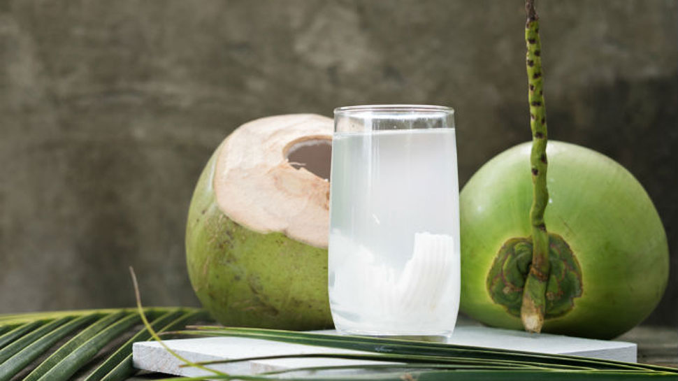 Coconut water is beneficial