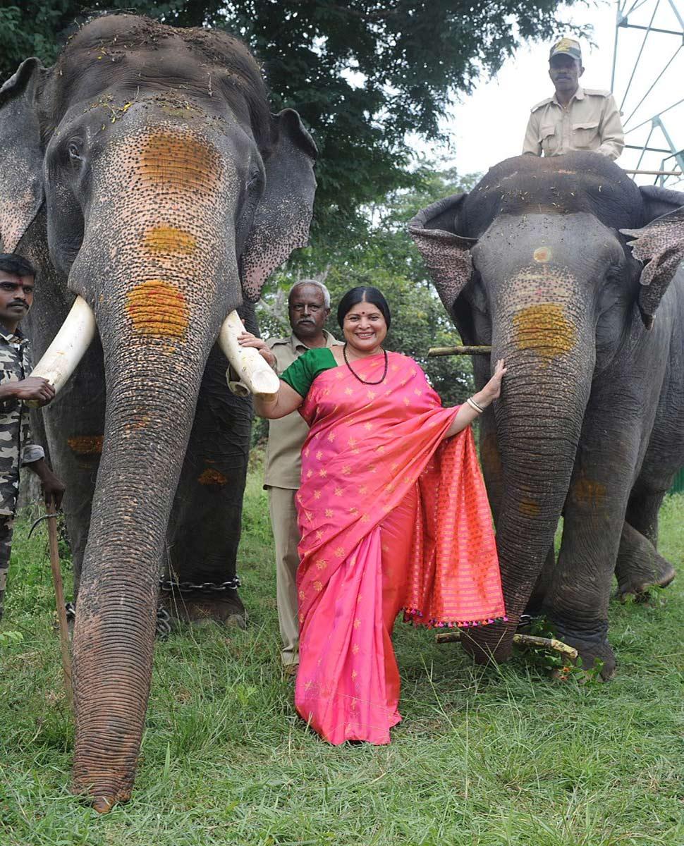 Kannad actress Jayamala's