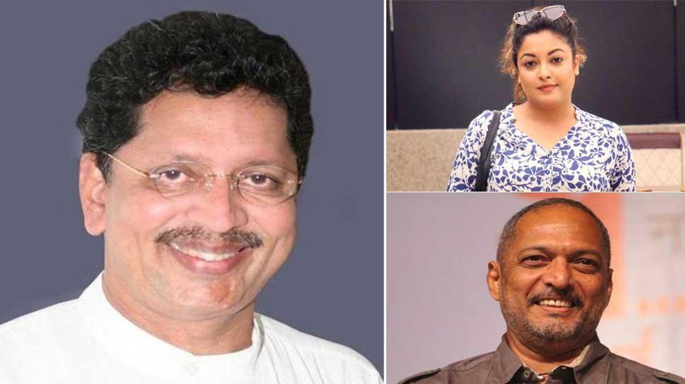 नाना पाटेकर को मिला महाराष्ट्र सरकार के मंत्री का समर्थन, तनुश्री दत्ता पर उठाए सवाल