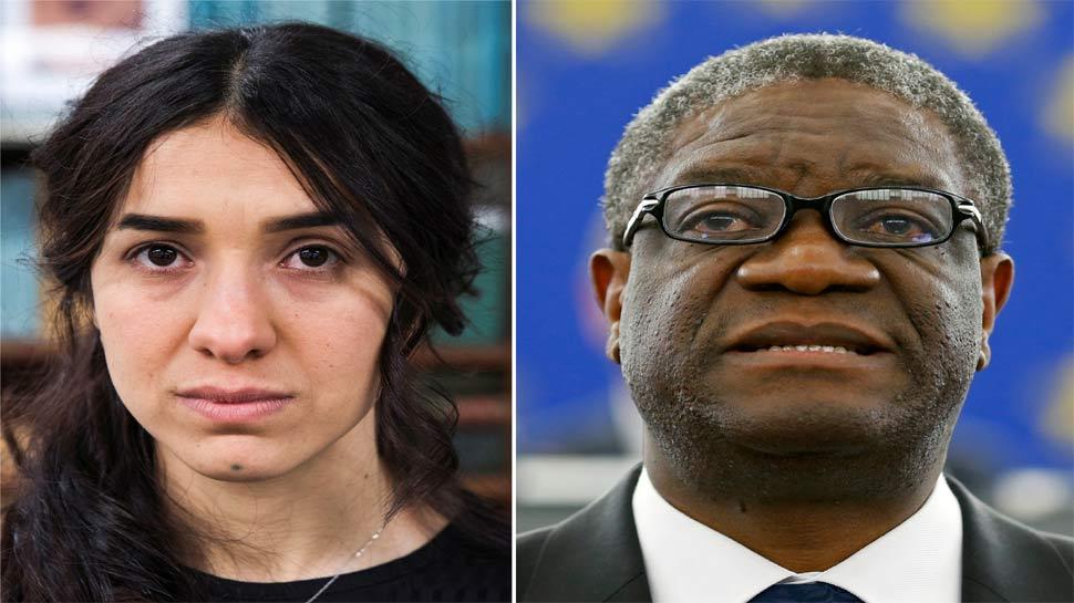 कांगो के डॉ मुकवेगे और यजीदी कार्यकर्ता नादिया मुराद को नोबेल शांति पुरस्कार के लिए चुना गया