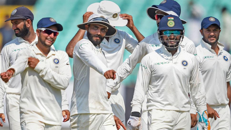 India vs West Indies, Rajkot Test