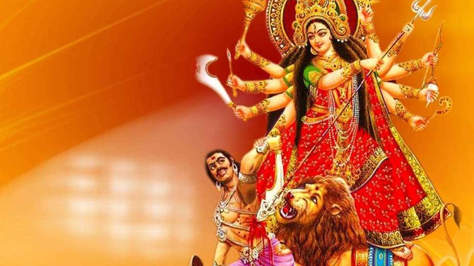 goddess durga ride on lion