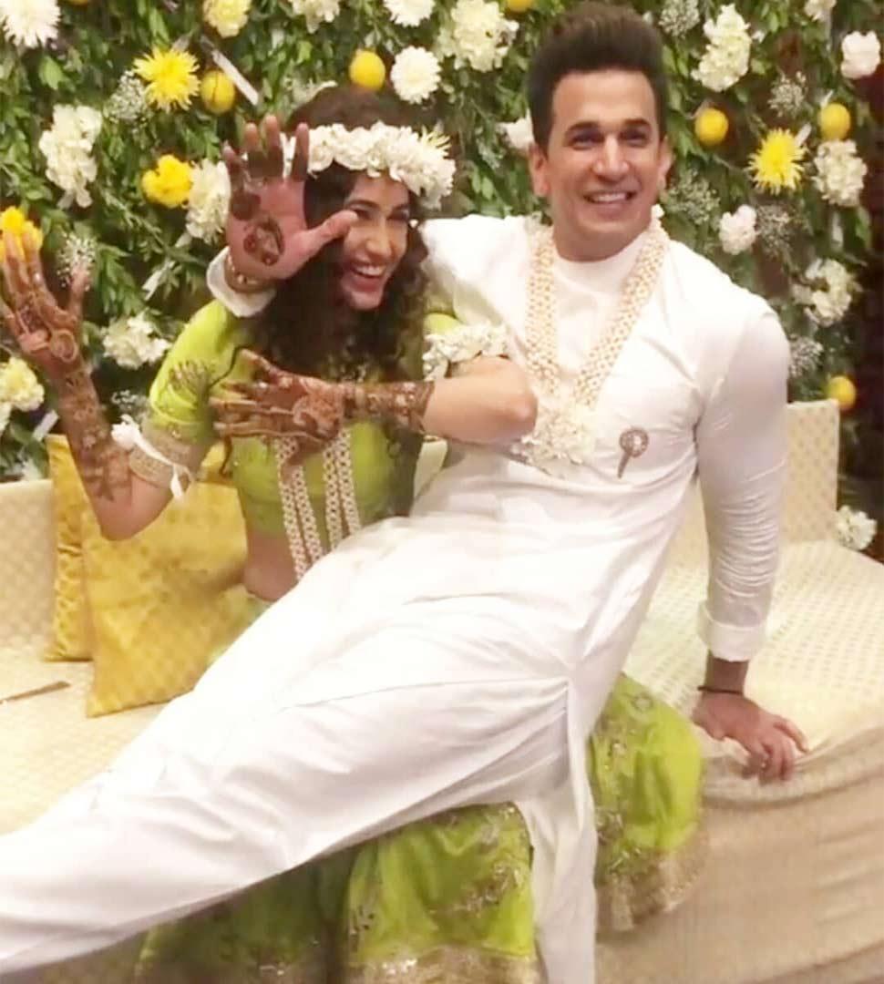 Prince Narula is engaged to Yuvika Choudhary