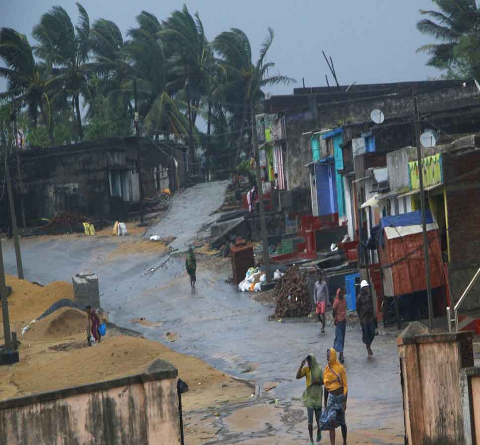 Hurricane rising towards west bengal