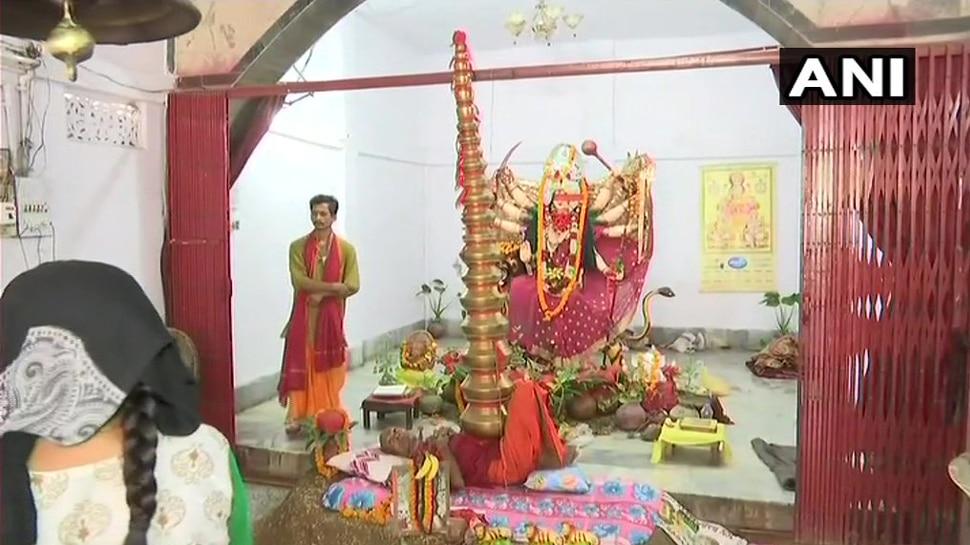nageshwar baba said he get energy from goddess durga