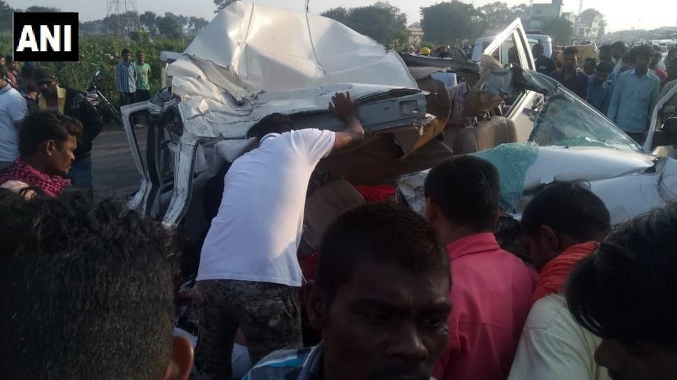राजनांदगांवः सड़क हादसे का शिकार हुई कार, एक ही परिवार के 10 लोगों की मौत