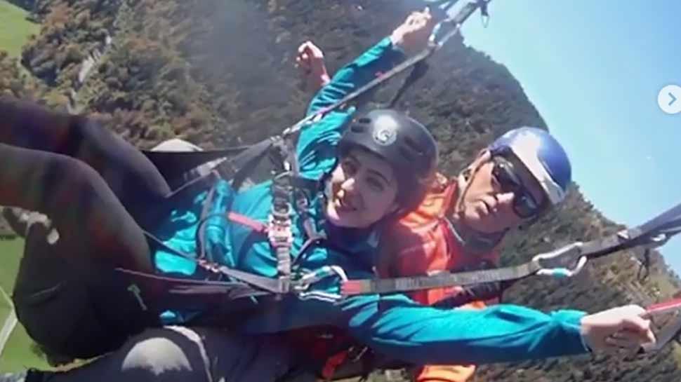 सारा अली खान को स्विट्जरलैंड में एडवेंचर करते हुए आई किसकी याद, देखिए VIDEO