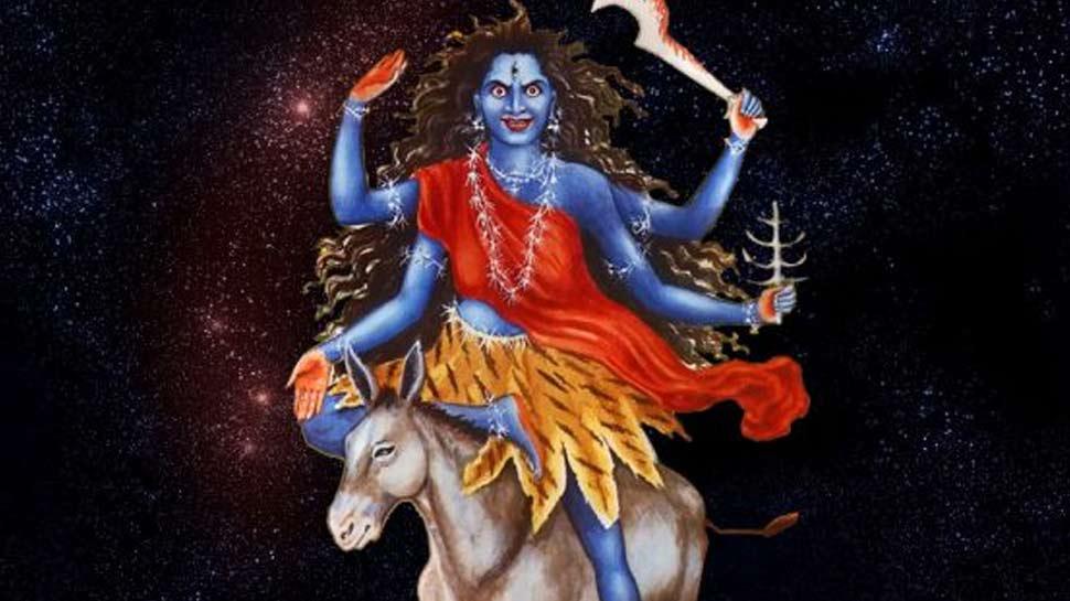 नवरात्र 2018: असुरों का वध करने के लिए मां दुर्गा बनीं कालरात्रि, सप्तमी पर ऐसे करें पूजा