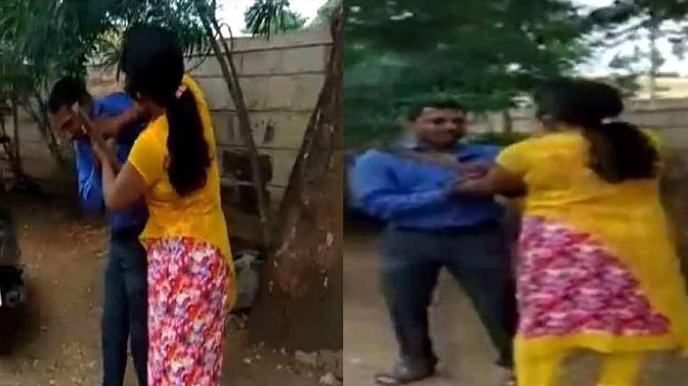 VIDEO : लोन के बदले मैनेजर ने की सेक्स डिमांड, महिला ने सनी देओल स्टाइल में सबक सिखाया