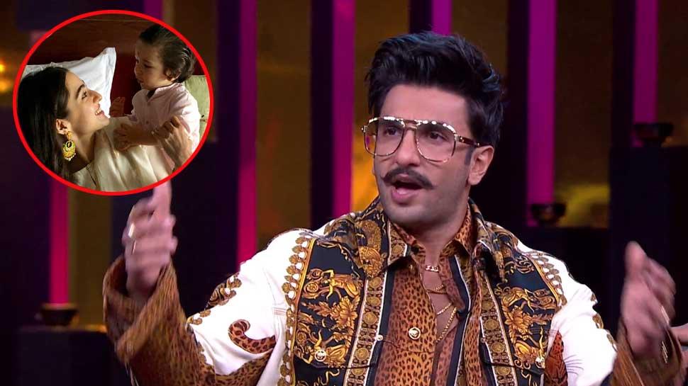 Video: रणवीर सिंह ने सैफ अली खान की बेटी को कहा 'झूठी नंबर 1', तैमूर के हुए दीवाने
