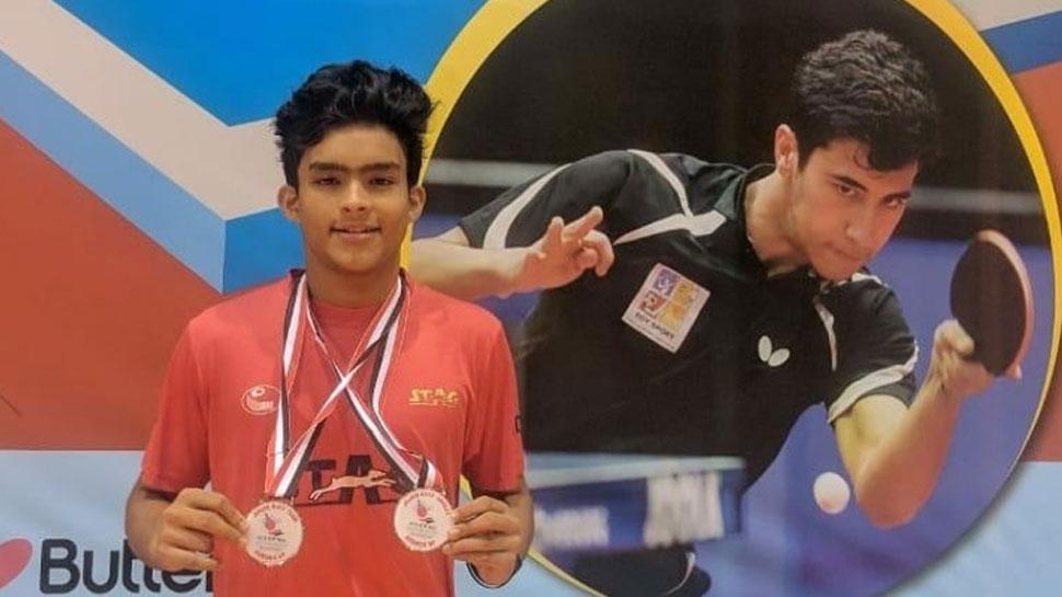 Table Tennis: राजवीर और रीगन ने जीते मिस्र जूनियर एंड कैडेट ओपन में मेडल