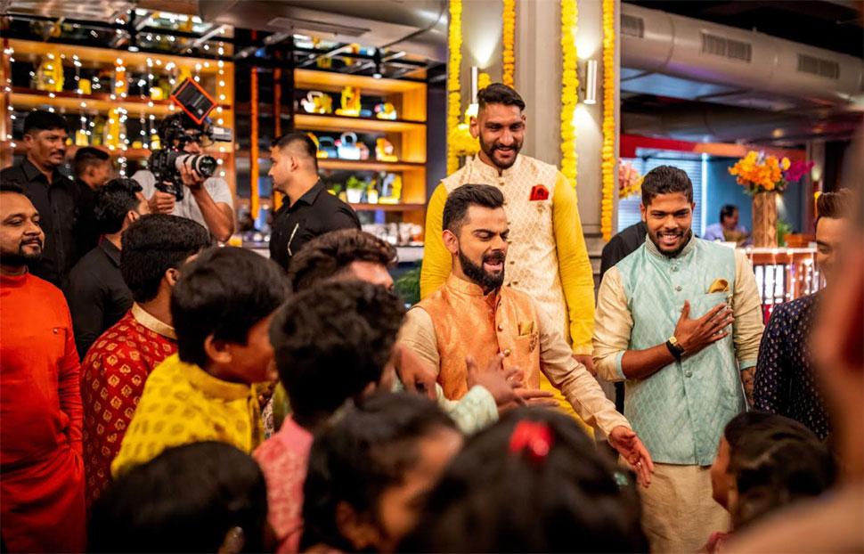 Virat Kohli Diwali Celebration