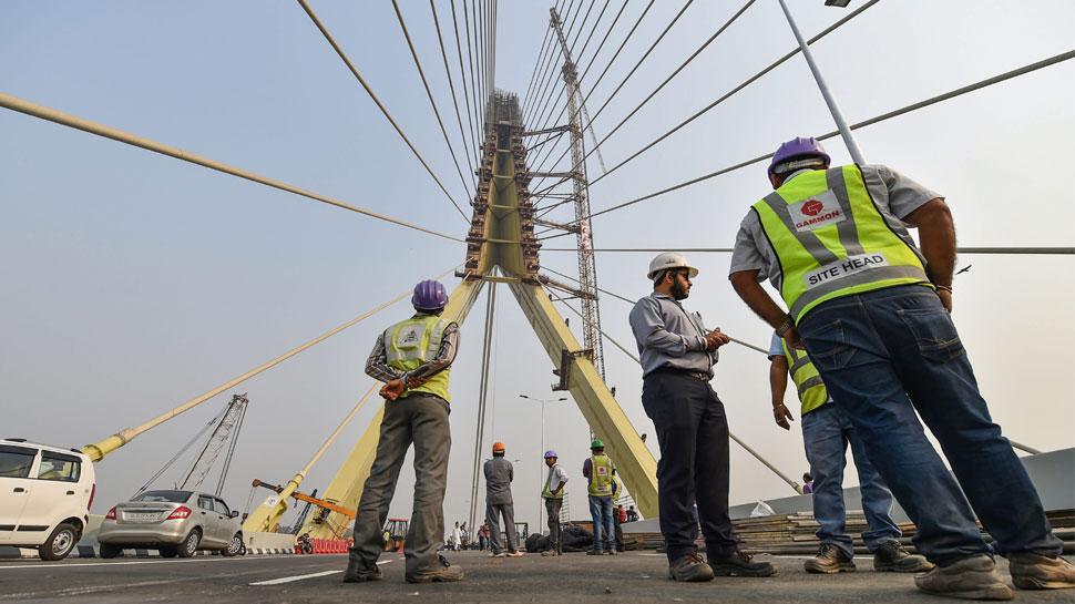 दिल्ली : यमुना पर बने सिग्नेचर ब्रिज का उद्घाटन आज, कल से दौड़ेंगे वाहन