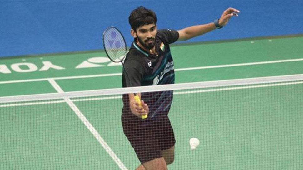 बैडमिंटन : चीन ओपन टूर्नामेंट में श्रीकांत का विजयी आगाज