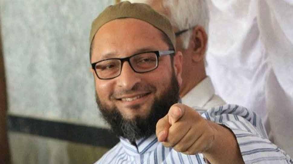असदुद्दीन ओवैसी का विवादित बयान, कहा- 'मुसलमान मुक्त भारत बनाना चाहते हैं अमित शाह'
