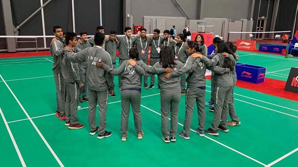 बैडमिंटन: जूनियर विश्व चैम्पियनशिप में भारत ने डेनमार्क को हराया, मिले-जुले आए नतीजे