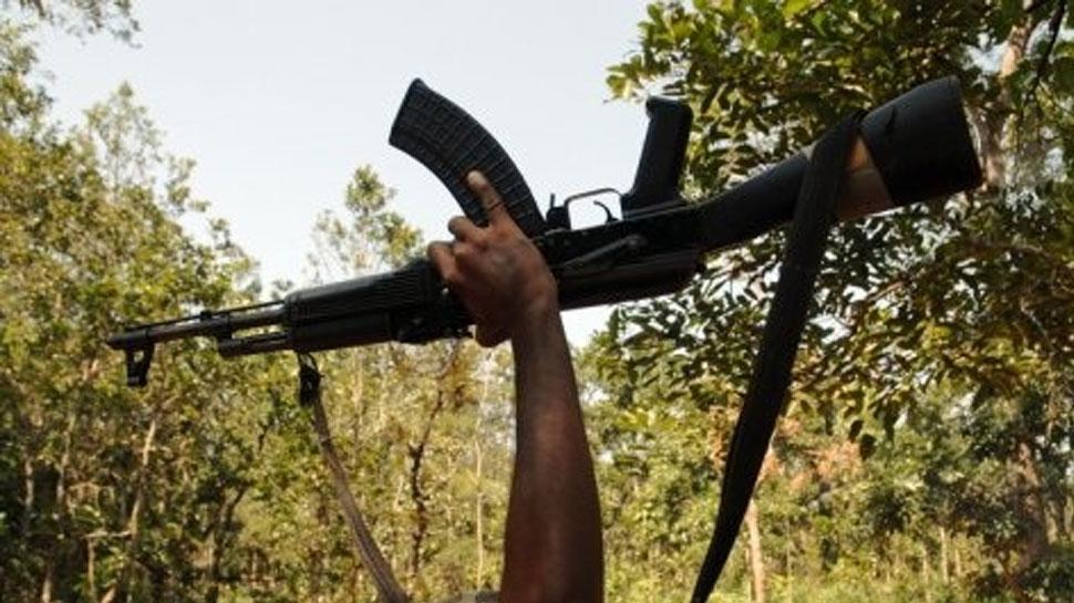 naxal affects development works in village