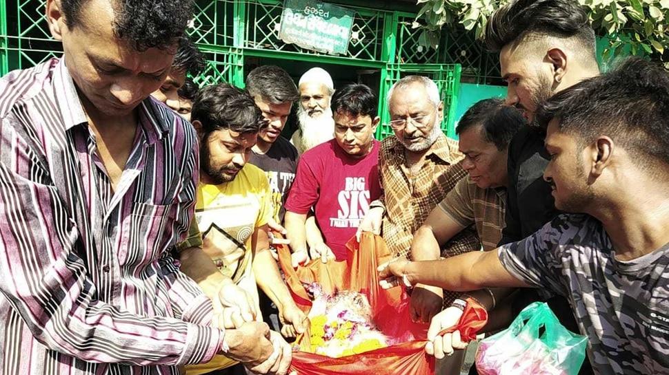 अहमदाबाद की एक दरगाह में गाई गई रामधुन, बंदर बना कारण