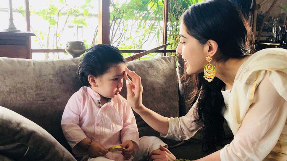 सारा अली खान ने बताया सीक्रेट, कहा- मुझे दीदी नहीं इस नाम से पुकारते हैं तैमूर