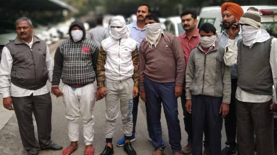 दिल्ली: ट्रेन में 1000 से ज़्यादा वारदात करने वाला गैंग गिरफ्तार