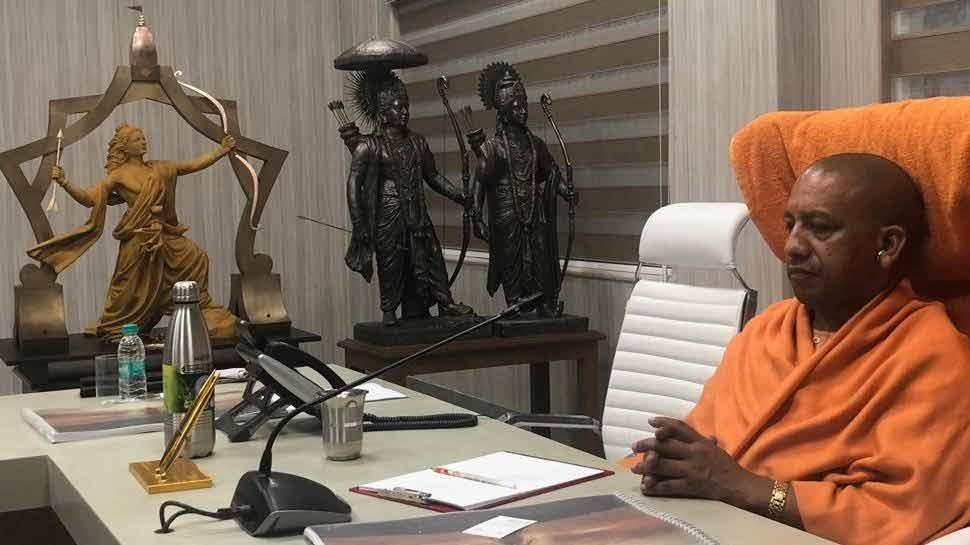 विहिप की धर्मसभा के पहले योगी सरकार का ऐलान, अयोध्या में बनेगी श्रीराम की सबसे ऊंची प्रतिमा