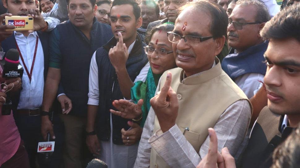 MP Election 2018: सीएम शिवराज सिंह चौहान के पास नहीं है कार, रखते हैं एक रिवॉल्वर