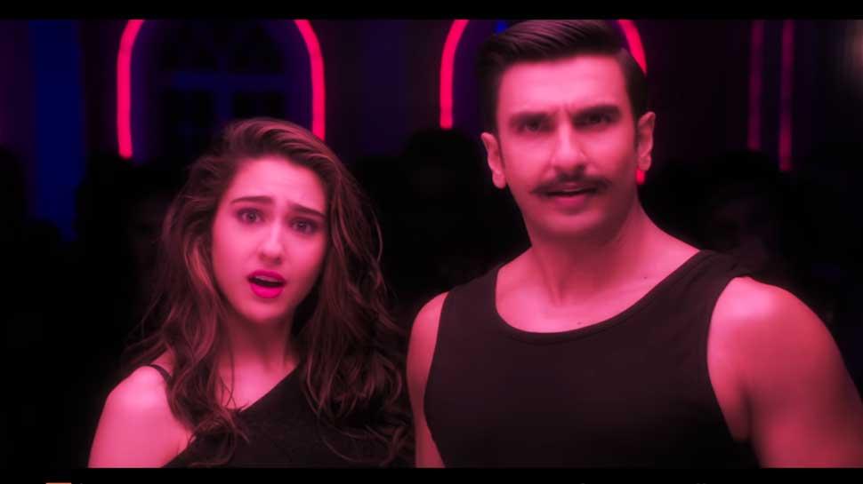 'सिंबा' बने रणवीर सिंह अब सारा अली खान को 'आंख मारे..', रिलीज हुआ फिल्म का पहला गाना