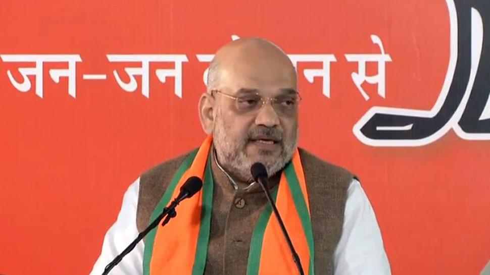 कांग्रेस का हर नेता खुद को CM बताकर जनता से वोट मांग रहा हैं: अमित शाह