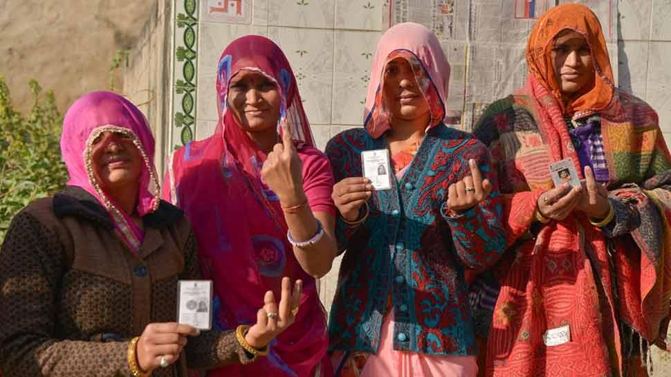 राजस्'€à¤¥à¤¾à¤¨ चुनाव LIVE : 1 बजे तक 41.53% मतदान, झुंझुनू में बीजेपी प्रत्'€à¤¯à¤¾à¤¶à¥€ के समर्थकों के साथ धक्'€à¤•à¤¾à¤®à¥à¤•à¥'€à¤•à¥€