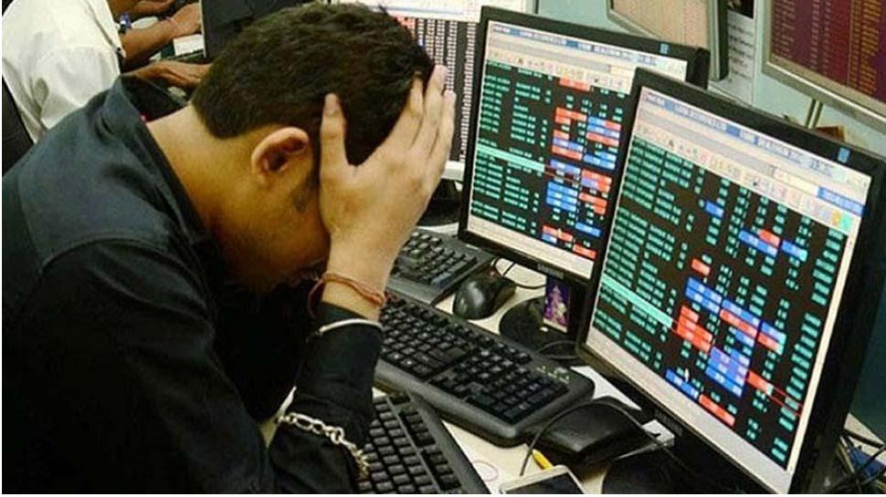 चुनावी नतीजों से शेयर बाजार धड़ाम, सेंसेक्स 500 अंक टूटा