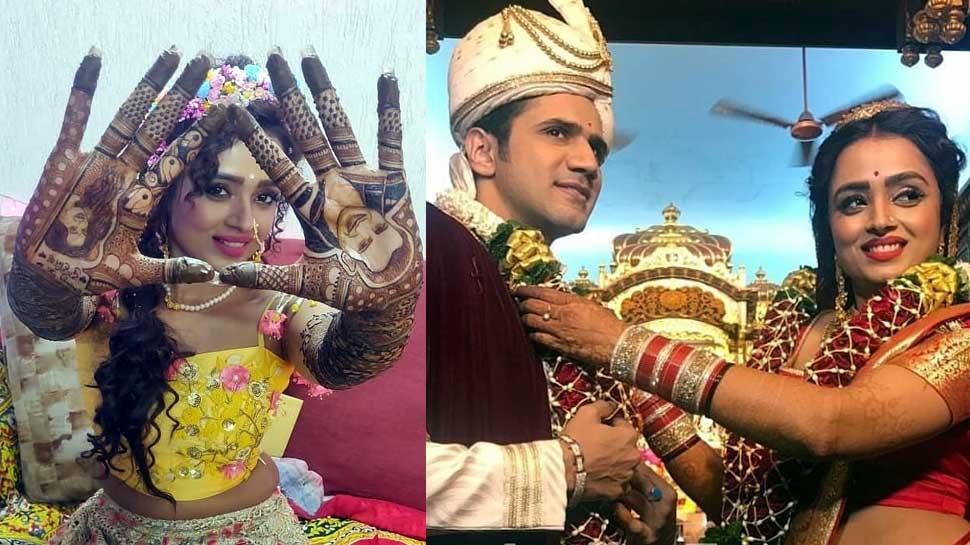 First Photos: 'ये रिश्ता क्या कहलाता है' पारुल चौहान ने मंदिर में की बॉयफ्रेंड से शादी