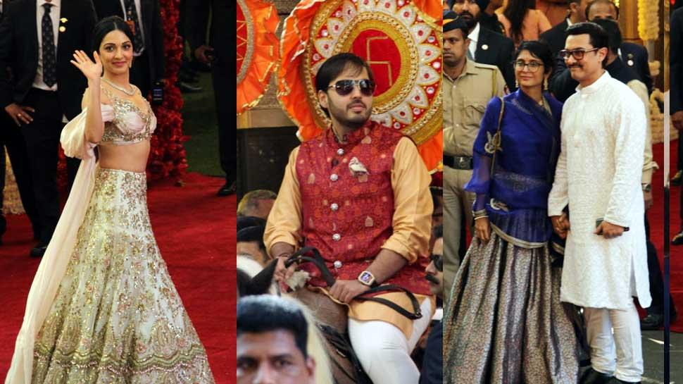 Isha Ambani Wedding: मुकेश अंबानी के दोनों बेटों ने की घोड़े पर ग्रैंड एंट्री, देखें पहली तस्वीरें