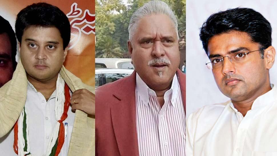 विजय माल्या ने सचिन पायलट और ज्योतिरादित्य सिंधिया को कहा 'यंग चैंपियंस', दी चुनाव में जीत की बधाई